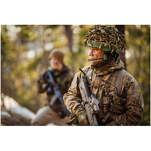 Armed Forces, in Training or Combat